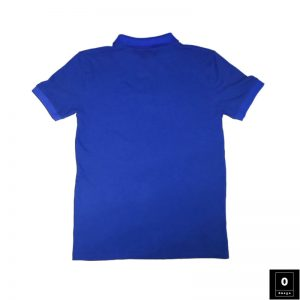 Royel Blue Color Polo Shirts For Men - Omega Fashion