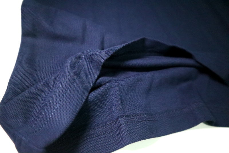 Short Sleeve Deep Blue Color Polo - Sample