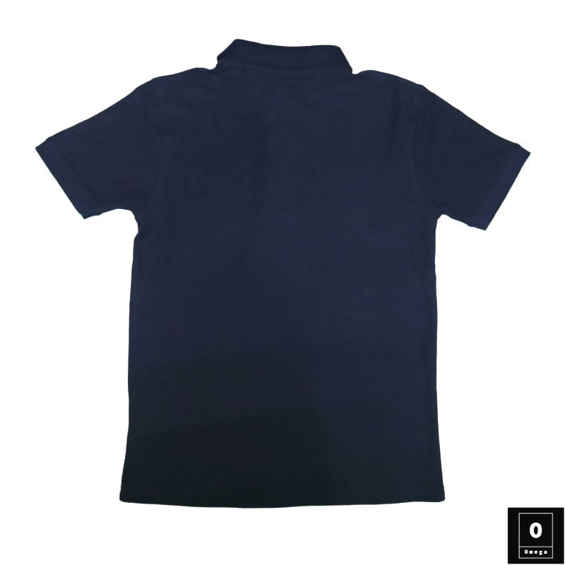 Short Sleeve Deep Blue Color Polo Shirts BD