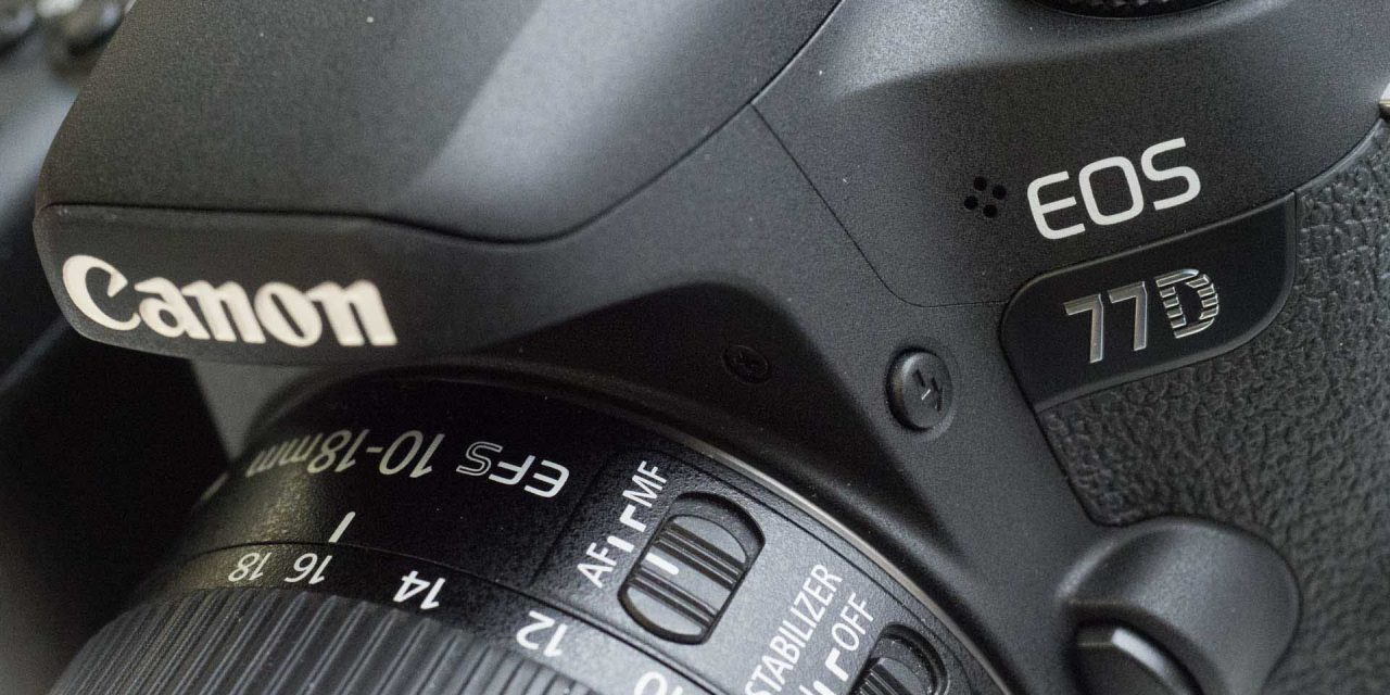 Canon EOS 77D Specifications