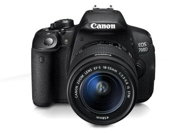Canon EOS 700D with Lens BD