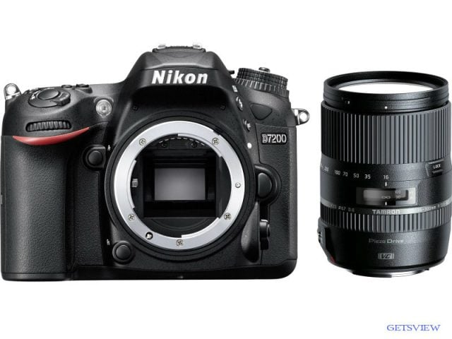 Nikon D7200 With Tamron 16-300 mm BD 1