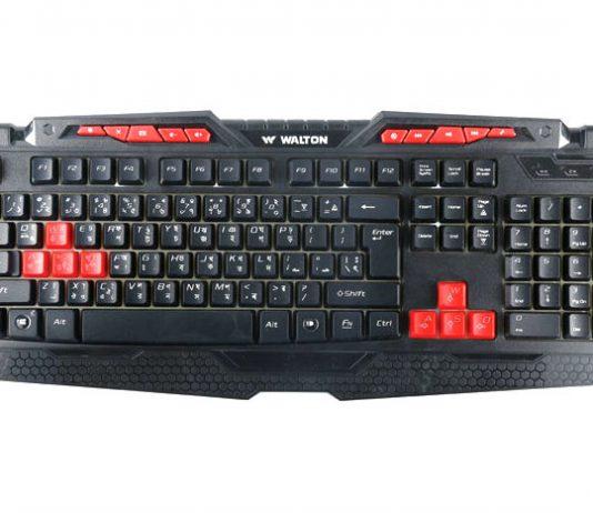 Walton Gaming Keyboard BD Price