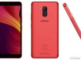 Infinix Note 5 Stylus Price BD