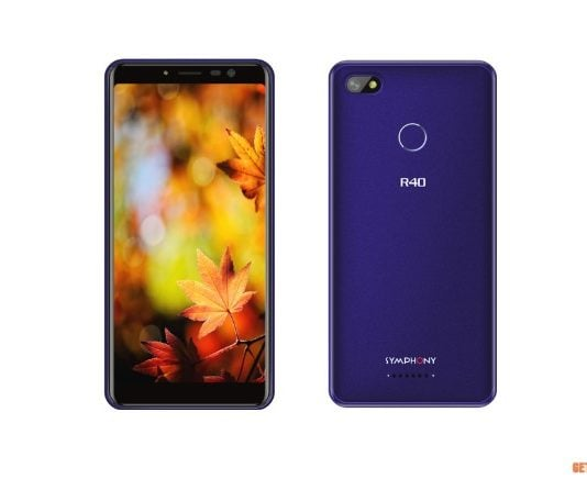 Symphony R40 Price & Specifications In Bangladesh