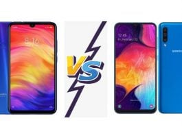 Samsung Galaxy A50 vs Redmi Note 7 Pro Comparison BD (1)