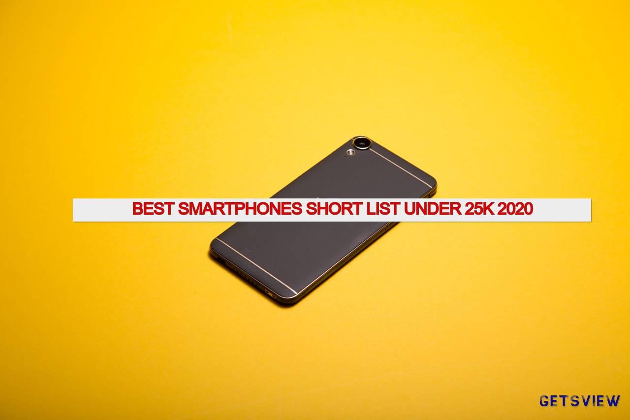 Best Smartphones Short List 2020 BD