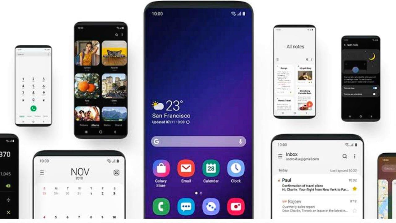 Samsung One UI 2.0 Update News